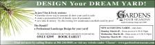 DESIGN Your DREAM YARD!