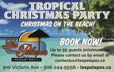 Las Palapas TROPICAL CHRISTMAS PARTY