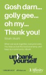 Unbank Yourself with Affinity Credit Union