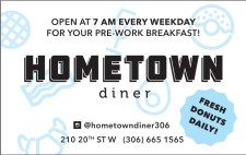OPEN AT 7AM EVERY WEEKDAY FOR YOUR PRE-WORK BREAKFAST!