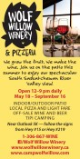 WOLF WILLOW WINERY & PIZZERIA