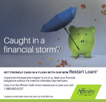 Caught in a financial storm?