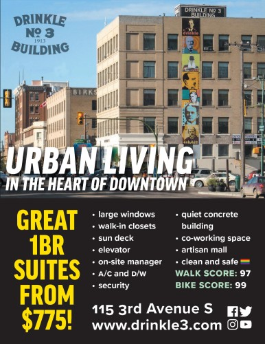 URBAN LIVING IN THE HEART OF DOWNTOWN