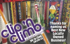 Thanks for naming Clip n Climb Best New Locally Owned Business!
