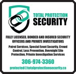 TOTAL PROTECTION SECURITY: FULLY LICENSED, BONDED AND INSURED