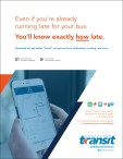 Download the app called 'Transit' and get real-time notifications, tracking, and more.